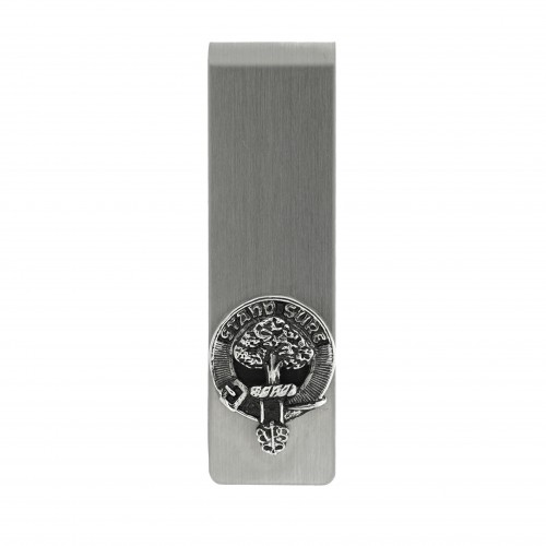 Clan Crest Money Clip - Click Image to Close